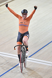 02-03-2018 BAANWIELRENNEN: UCI WK BAANWIELRENNEN: APELDOORN<br /> Kirsten Wildt (NED) goud op de Womens Omnium Tempo Race<br /> <br /> Foto: Margarita Bouma