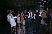 Tracey Emin posing for Johnnie Shand Kidd. The Serpentine Summer party co-hosted by Jimmy Choo. The Serpentine Gallery. 30 June 2005. ONE TIME USE ONLY - DO NOT ARCHIVE  © Copyright Photograph by Dafydd Jones 66 Stockwell Park Rd. London SW9 0DA Tel 020 7733 0108 www.dafjones.com