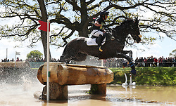 Harelaw Wizard ridden by Ben Hobday on the Cross Country during day four of the 2019 Mitsubishi Motors Badminton Horse Trials at The Badminton Estate, Gloucestershire. PRESS ASSOCIATION Photo. Picture date: Saturday May 4, 2019. See PA story EQUESTRIAN Badminton. Photo credit should read: David Davies/PA Wire