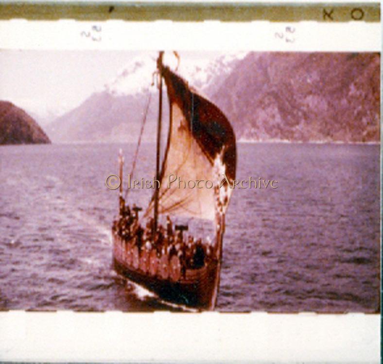 Horizontal 35mm Technirama (anamorphic) x 1.5 'The Vikings'.