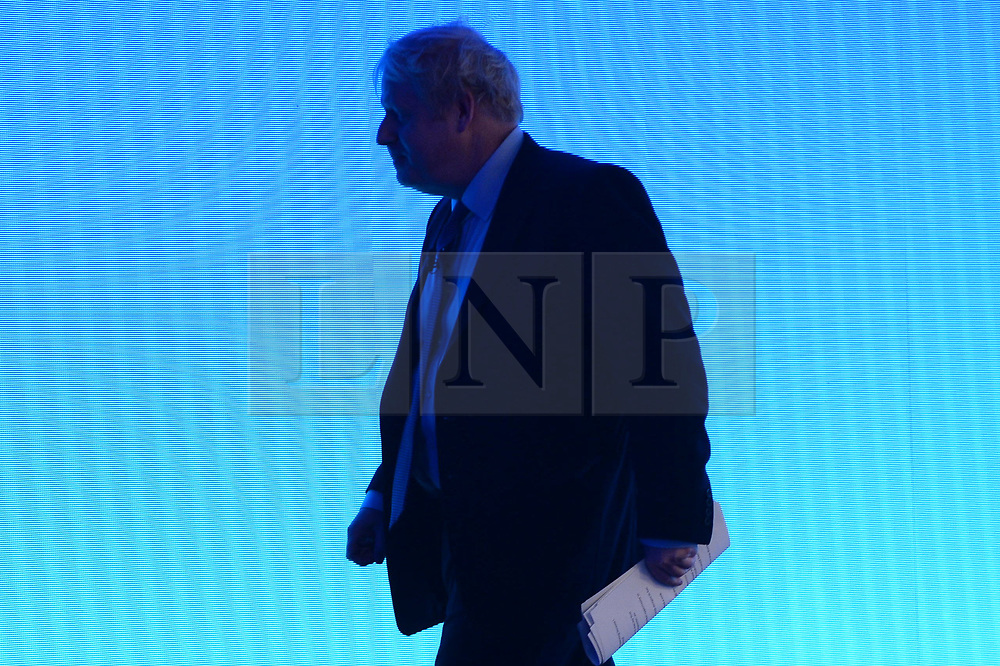 © Licensed to London News Pictures. 18/11/2019. London, UK. British Labour Party leader Jeremy Corbyn makes a keynote speech at the annual Confederation of British Industry annual conference. Photo credit: Ray Tang/LNP