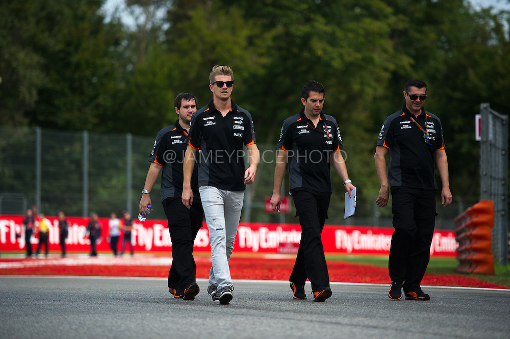 September 3-5, 2015 - Italian Grand Prix at Monza: Nico Hulkenberg (GER), Force India-Mercedes