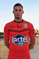 Valentin Launay - 28.09.2015 - Photo officielle - Laval - Ligue 2<br /> Photo : Philippe Le Brech / Icon Sport
