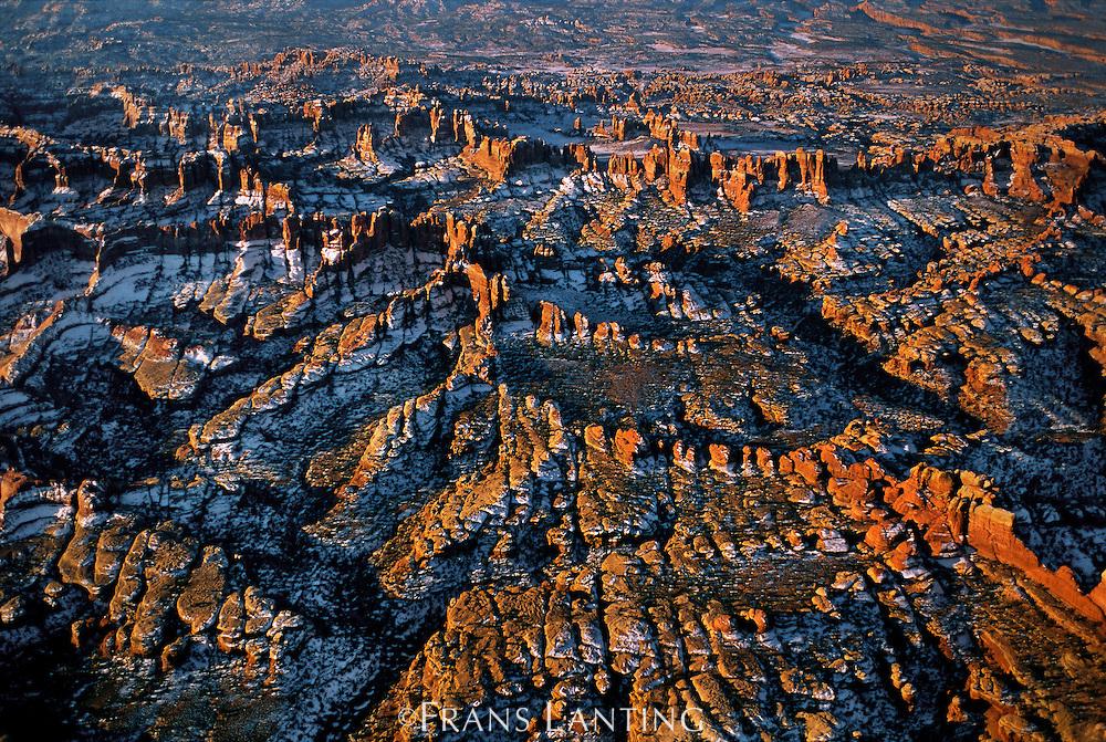 Canyonlands National Park (aerial), Utah