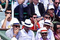 Sergi BRUGUERA / Sebastien GROSJEAN - 30.05.2015 - Jour 7 - Roland Garros 2015 <br />Photo : Dave Winter / Icon Sport