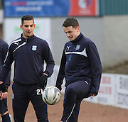 Dundee new boy Stephen McGinn -  Dundee v Hamilton Academical, SPFL Premiership at Dens Park <br /> <br /> <br />  - &copy; David Young - www.davidyoungphoto.co.uk - email: davidyoungphoto@gmail.com