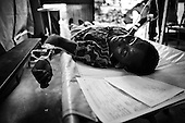 Zimbabwe Feature: Cholera Crisis (Black & White)