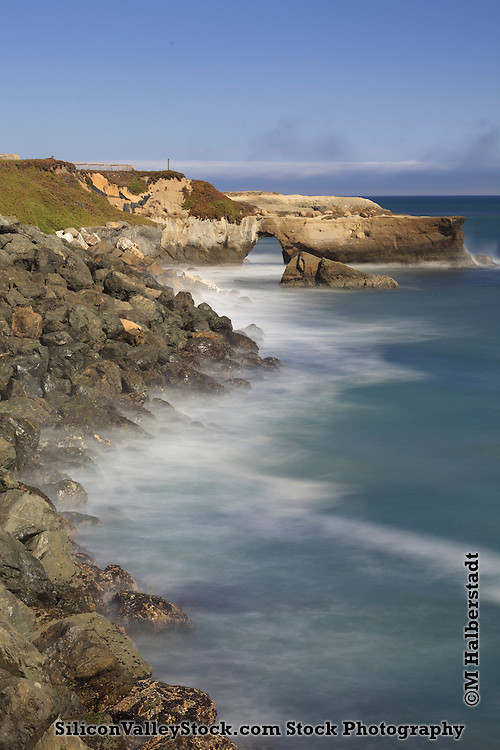 West Cliff arch - Santa Cruz, California