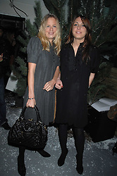 Left to right, ASTRID HARBORD and CAMILLA STOPFORD-SACKVILLE at a party to present the Fall/Winter Collection 2007/2008 of Moncler the French mountaineering brand held at 10 Mercer Street, London WC2 on 13th February 2007.<br />