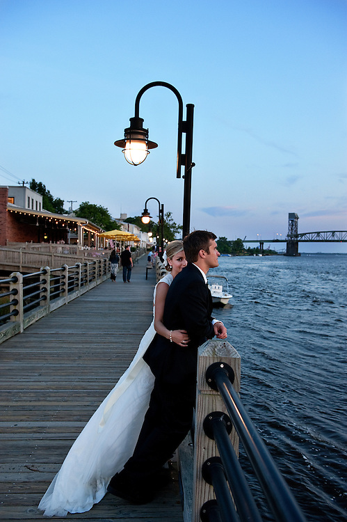 Wilmington NC Waterfront Wedding