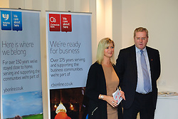 Pictured is Katy Simpson from Clydesdale and Yorkshire Bank welcoming guests to the evening<br /> <br /> Clydesdale and Yorkshire Bank food and the world dinner held at Lincoln Hotel as part of the bank's business week.  Promar International divisional director John Giles was the guest speaker at the event.<br /> <br /> Date: November 12, 2015<br /> Picture: Chris Vaughan/Chris Vaughan Photography