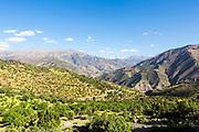 Ait Bouguemez - the happy valley, Agouti, Morocco