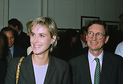 COUNTESS SOPHIE WOOLTON and MR DAVID MONTGOMERY M/D of the Mirror Group newspapers, at a party in London on 10th September 1997.MBB 33