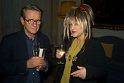 John Swannell and Elizabeth Emanuel, Launch of  ñMy Beautiful Gameî by Nancy DellÍOlio<br />