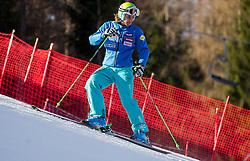 KUERNER Mihaof Slovenia prior to the 1st Run of 8th Men's Giant Slalom - Pokal Vitranc 2012 of FIS Alpine Ski World Cup 2011/2012, on March 10, 2012 in Vitranc, Kranjska Gora, Slovenia.  (Photo By Vid Ponikvar / Sportida.com)