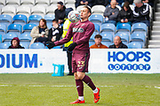 Swansea City defender Connor Roberts (23) warming up before the EFL Sky Bet Championship match between Queens Park Rangers and Swansea City at the Loftus Road Stadium, London, England on 13 April 2019.