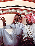 Bedouin are great storytellers.  Their animation is surpassed only by the expressiveness of their language. Dahna Sands, Saudi Arabia