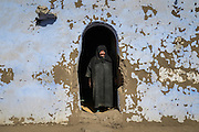 Hajja Fardous in her home, Seheil Island