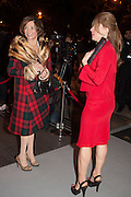 ALIAI FORTE; DORRIT MOUSSAIEFF, Valentino: Master of Couture - private view. Somerset House, London. 28 November 2012