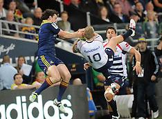 Dunedin-Super Rugby, Highlanders v Rebels, April 04