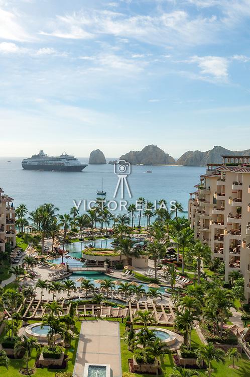 Villa La Estancia hotel in Cabo San Lucas. Baja California Sur, Mexico.