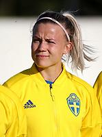 International Women's Friendly Matchs 2019 / <br /> Womens's Algarve Cup Tournament 2019 - <br /> Portugal v Sweden 2-1 ( Municipal Stadium - Albufeira,Portugal ) - <br /> Hanna Glas of Sweden