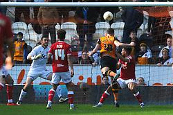 Robert Snodgrass of Hull City scores to make it 2-0 - Mandatory by-line: Dougie Allward/JMP - 02/04/2016 - FOOTBALL - KC Stadium - Hull, England - Hull City v Bristol City - Sky Bet Championship