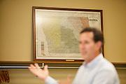Republican presidential candidate, former Sen. Rick Santorum speaks at a town hall event in Mount Pleasant, Iowa July 28, 2011.