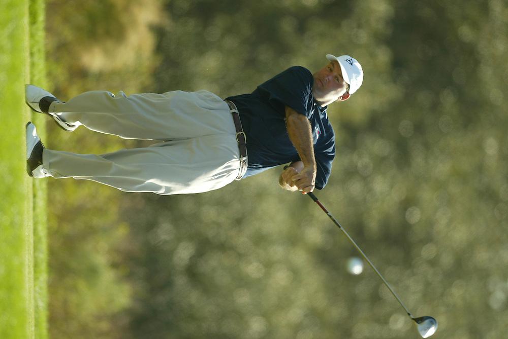 John Maginnes..2003 PGA Tour Qualifying, Final Stage.Sixth Round.Orange County National GC.Orlando, FL.Sunday, December 7  2003..Photograph by Darren Carroll..