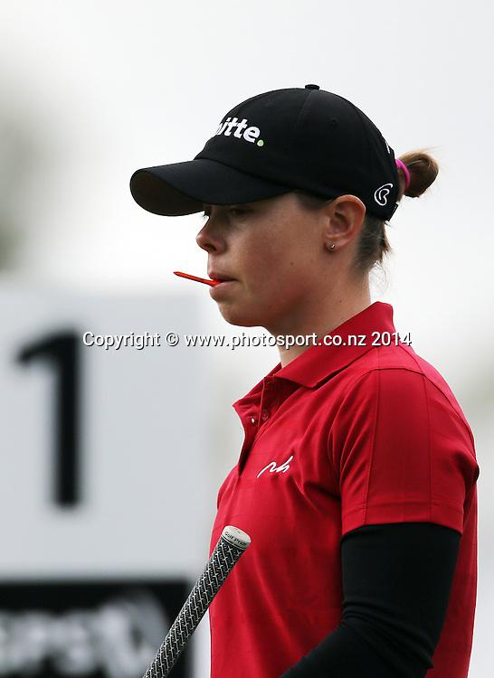 020214  SPORT <br /> NZ women's golf open at Clearwater resort.<br /> Final day.<br /> Christel Boeljon (Netherlands)