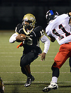 Truman's Jorden Freeman #13 runs for a touchdown in the first quarter against Tennent Friday October 30, 2015 at Harry S. Truman High School in Levittown, Pennsylvania.  (Photo by William Thomas Cain)