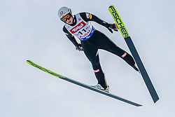 01.02.2020, Seefeld, AUT, FIS Weltcup Nordische Kombination, Skisprung HS 109, im Bild Martin Fritz (AUT) // Martin Fritz of Austria during Skijumping Competition HS 109 of FIS Nordic Combined World Cup at the Seefeld, Austria on 2020/02/01. EXPA Pictures © 2020, PhotoCredit: EXPA/ Stefan Adelsberger
