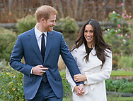 27.11.2017; London, England: PRINCE HARRY AND MEGHAN MARKLE <br />