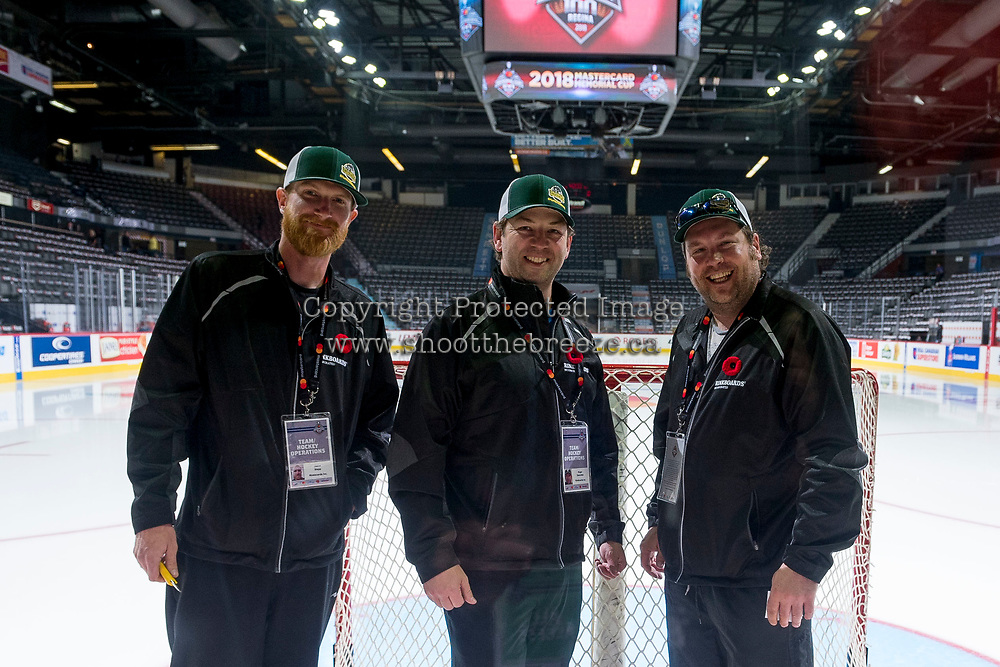 REGINA, SK - MAY 22:  at the Brandt Centre on May 22, 2018 in Regina, Canada. (Photo by Marissa Baecker/CHL Images)