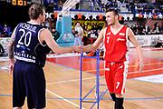 DESCRIZIONE : Mantova LNP 2014-15 All Star Game 2015 - Gara tiro da tre<br /> GIOCATORE : Alan Voskuil Stefano Tonut<br /> CATEGORIA : tiro three points fairplay<br /> EVENTO : All Star Game LNP 2015<br /> GARA : All Star Game LNP 2015<br /> DATA : 06/01/2015<br /> SPORT : Pallacanestro <br /> AUTORE : Agenzia Ciamillo-Castoria/M.Marchi<br /> Galleria : LNP 2014-2015 <br /> Fotonotizia : Mantova LNP 2014-15 All Star game 2015