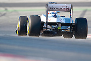 Valtteri Bottas (FIN) drives the Williams F1 Team FW34  Formula One Testing, Circuit de Catalunya, Barcelona, Spain, World Copyright: Jamey Price