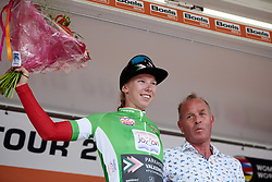Lorena Wiebes (NED) wins the points classification at Boels Ladies Tour 2019 - Stage 5, a 154.8 km road race from Nijmegen to Arnhem, Netherlands on September 8, 2019. Photo by Sean Robinson/velofocus.com