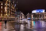 Helsinki, city center and Svenska Teatern on the right