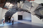 VENICE, ITALY..June 1999..48th Biennale of Venice.Greek Pavillion..Installation by Kostas Varotsos..(Photo by Heimo Aga)