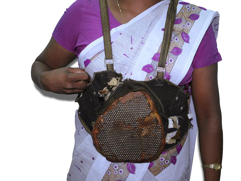 A suicide bomber's vest