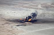 April, 9, 2009, AnIraqi oil field in An Nasiriyah Province in Iraq.