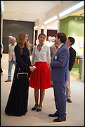 GINTA SICEVA; BOGDANA KONDRASHINA; RENE SATTLER;, Masterpiece London 2014 Preview. The Royal Hospital, Chelsea. London. 25 June 2014.