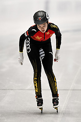 February 9, 2019 - Torino, Italia - Foto LaPresse/Nicolò Campo .9/02/2019 Torino (Italia) .Sport.ISU World Cup Short Track Torino - Ladies 500 meters Quarterfinals .Nella foto: Xiran Wang..Photo LaPresse/Nicolò Campo .February 9, 2019 Turin (Italy) .Sport.ISU World Cup Short Track Turin - Ladies 500 meters Quarterfinals.In the picture: Xiran Wang (Credit Image: © Nicolò Campo/Lapresse via ZUMA Press)