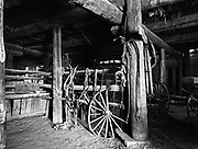 Barn Interior, Hubbell's Trading Post, AZ