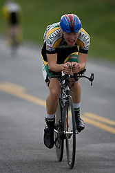 Tom Soladay (LSV) during stage 1 of the Tour of Virginia.  The Tour of Virginia began with a 4.7 mile individual time trial near Natural Bridge, VA on April 24, 2007. Formerly known as the Tour of Shenandoah, the ToV has gained National Race Calendar (NRC) status for the first time in its five year history.