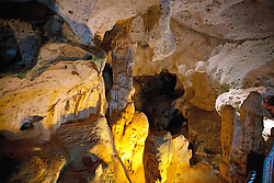 Limestone rock formations, Green Grotto Caves, Discovery Bay, St. Ann, Jamaica