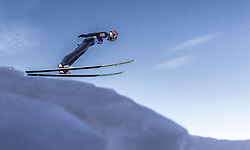 21.02.2019, Bergiselschanze, Innsbruck, AUT, FIS Weltmeisterschaften Ski Nordisch, Seefeld 2019, Nordische Kombination, Skisprung, Training, im Bild Mario Seidl (AUT) // Mario Seidl of Austria during a training of Ski Jumping competition for Nordic Combined of FIS Nordic Ski World Championships 2019. Bergiselschanze in Innsbruck, Austria on 2019/02/21. EXPA Pictures © 2019, PhotoCredit: EXPA/ JFK