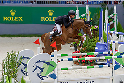 GUERY Jérome (BEL), Eras Ste Hermelle<br /> Genf - CHI Geneve Rolex Grand Slam 2019<br /> Prix des Communes Genevoises<br /> 2-Phasen-Springen<br /> International Jumping Competition 1m50<br /> Two Phases: A + A, Both Phases Against the Clock<br /> 13. Dezember 2019<br /> © www.sportfotos-lafrentz.de/Stefan Lafrentz