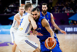 Pietro Aradori of Italy during basketball match between National Teams of Finland and Italy at Day 10 in Round of 16 of the FIBA EuroBasket 2017 at Sinan Erdem Dome in Istanbul, Turkey on September 9, 2017. Photo by Vid Ponikvar / Sportida