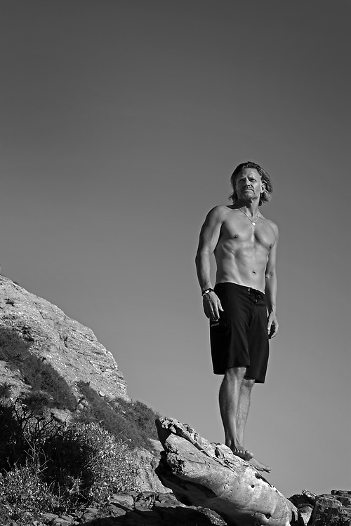 Author and fitness expert, Craig Cooper photographed in Newport Beach for his upcoming Book, The New Prime.  Newport Beach, California, USA, North America